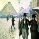 Calle de París en un día de lluvia ( Parte I )