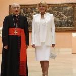 El Papa, Rouco Varela, la Baronesa Thyssen y el Arte