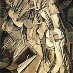 Desnudo bajando una escalera de Marcel Duchamp