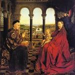 La Virgen del Canciller Rolin de Jan Van Eyck