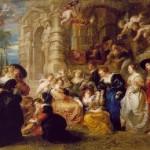 El Jardín del Amor de Peter Paul Rubens