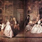 La galería de arte del marchante Gersaint. Antoine Watteau. ( Parte I )