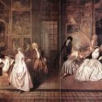La galería de arte del Marchante Gersaint. Antoine Watteau. ( Parte II )