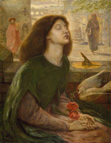 Dante Gabriel Rossetti. Beata Beatrix. 1881. © Birmingham Museums & Art Gallery