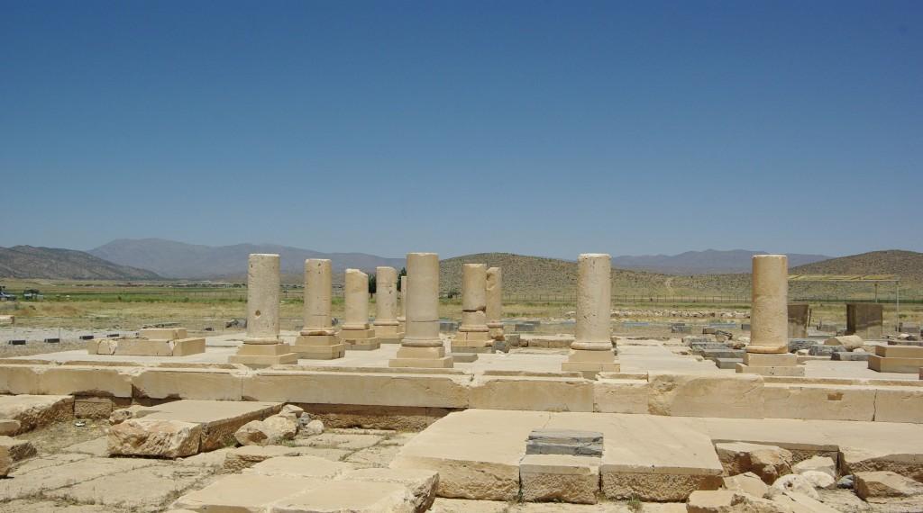 Ruinas de Pasargada. Capital de Ciro II el Grande