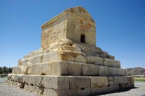 La tumba de Cirro II el Grande en Pasargada
