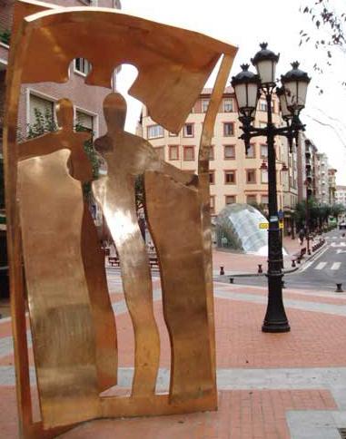 Avenida de La Libertad de Barakaldo. Foto: Isabel Pe Fern