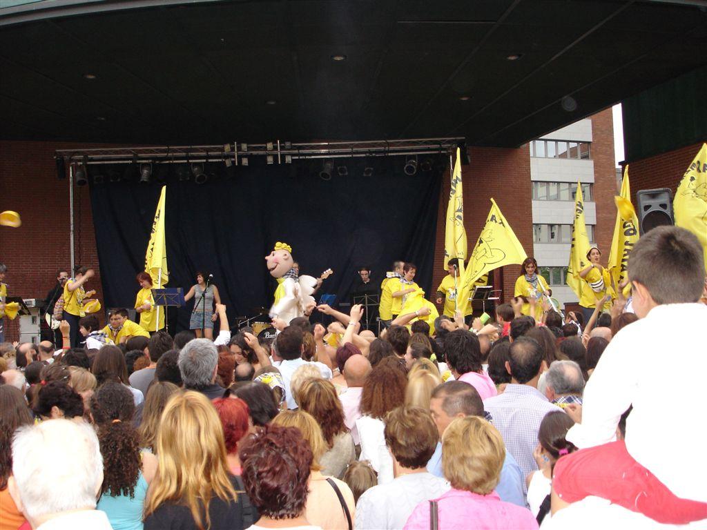 Fiestas de Barakaldo. Fuente:i-barakaldo.com