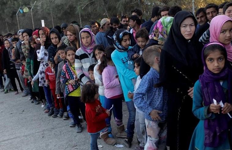 Refugiados. Foto: EFE