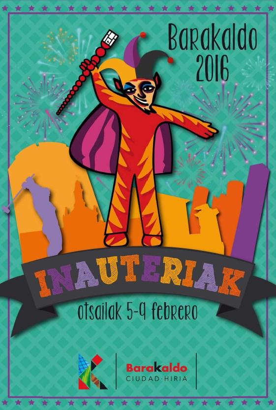 Cartel Carnaval Barakaldo 2016