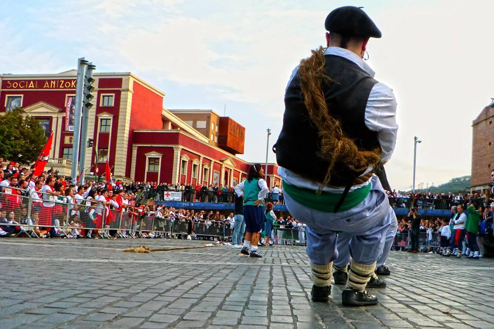 Soka tira intercuadrillas. Foto: Arantza Basauri