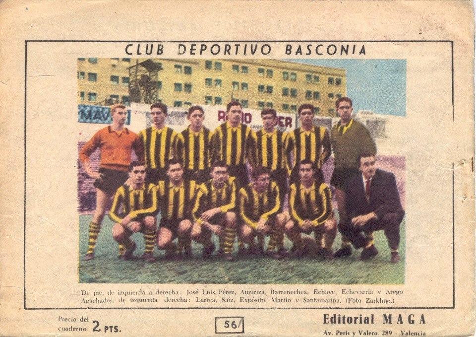 Imagen de un Basconia histórico.