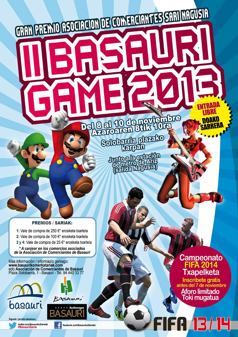 Basauri Game 2013. Foto: Basauriko Merkatariak