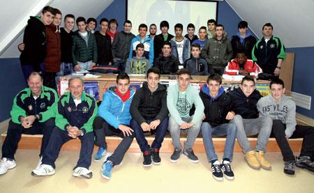Selección Basauri Cadetes de 2014. Foto: Cantera Deportiva
