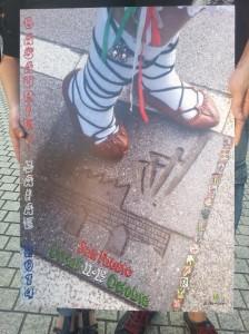 Cartel anunciador de los San Faustos 2014