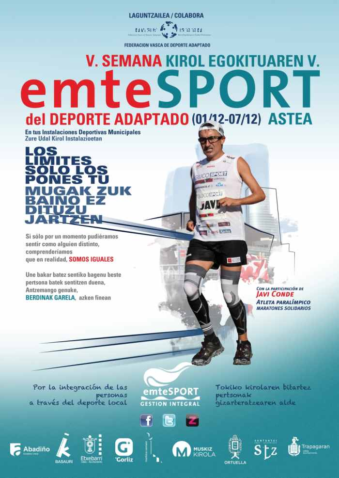 Cartel de la V Jornada del Deporte