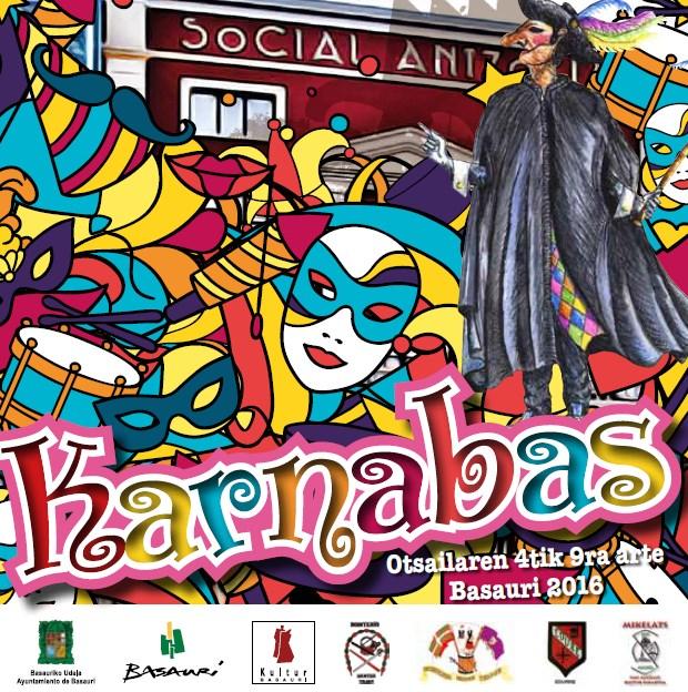 Cartel Karnabas Basauri 2016