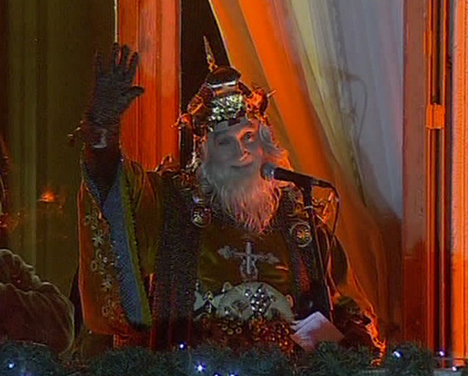 Los Reyes Magos saludarán a las niñas y niños de Bilbao, desde el Ayuntamiento, a las 20:00 horas del día 5 de enero.