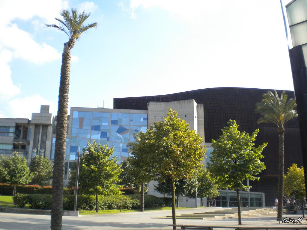 Exterior del Palacio Euskalduna. La foto es de Leire Moral.