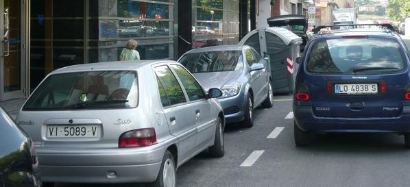 Aparcar en Bilbao. Foto: EITB.