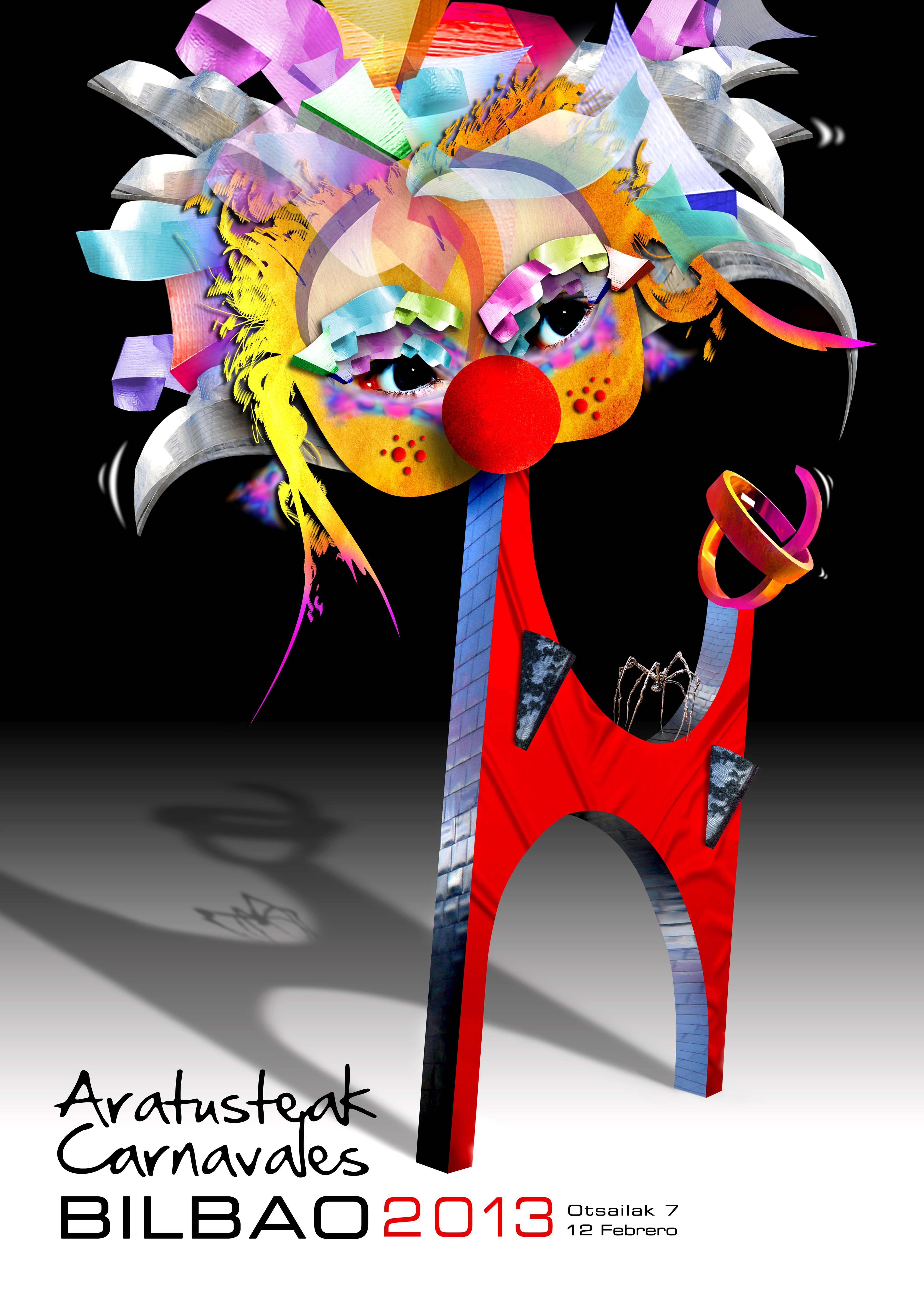 Este es 'Lehoi', el cartel de Carnaval 2013 de Bilbao :-)).