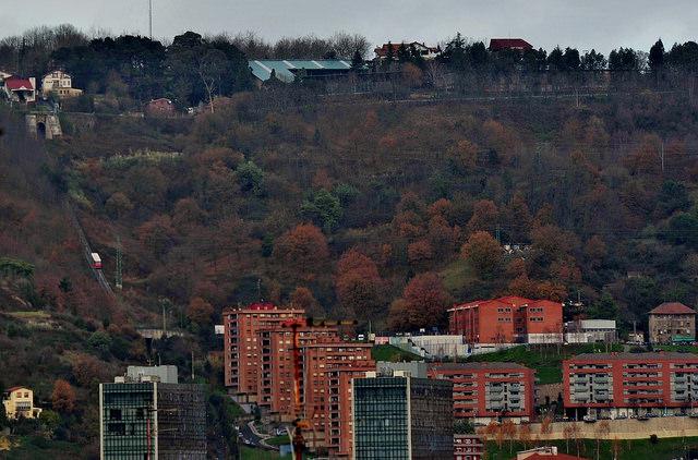 Funicular de Bilbao. Foto: Jon Arrue