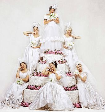 Las novias de 'Campanadas de Boda'. Foto: http://www.campanadasdeboda.com/