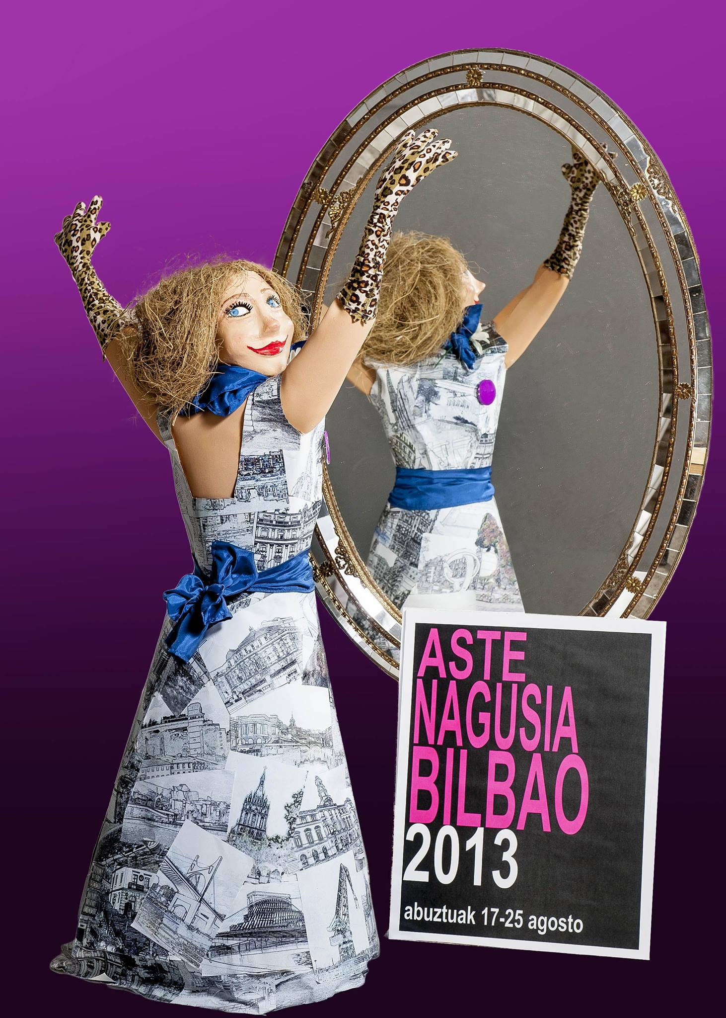 Cartel oficial de la Aste Nagusia 2013.