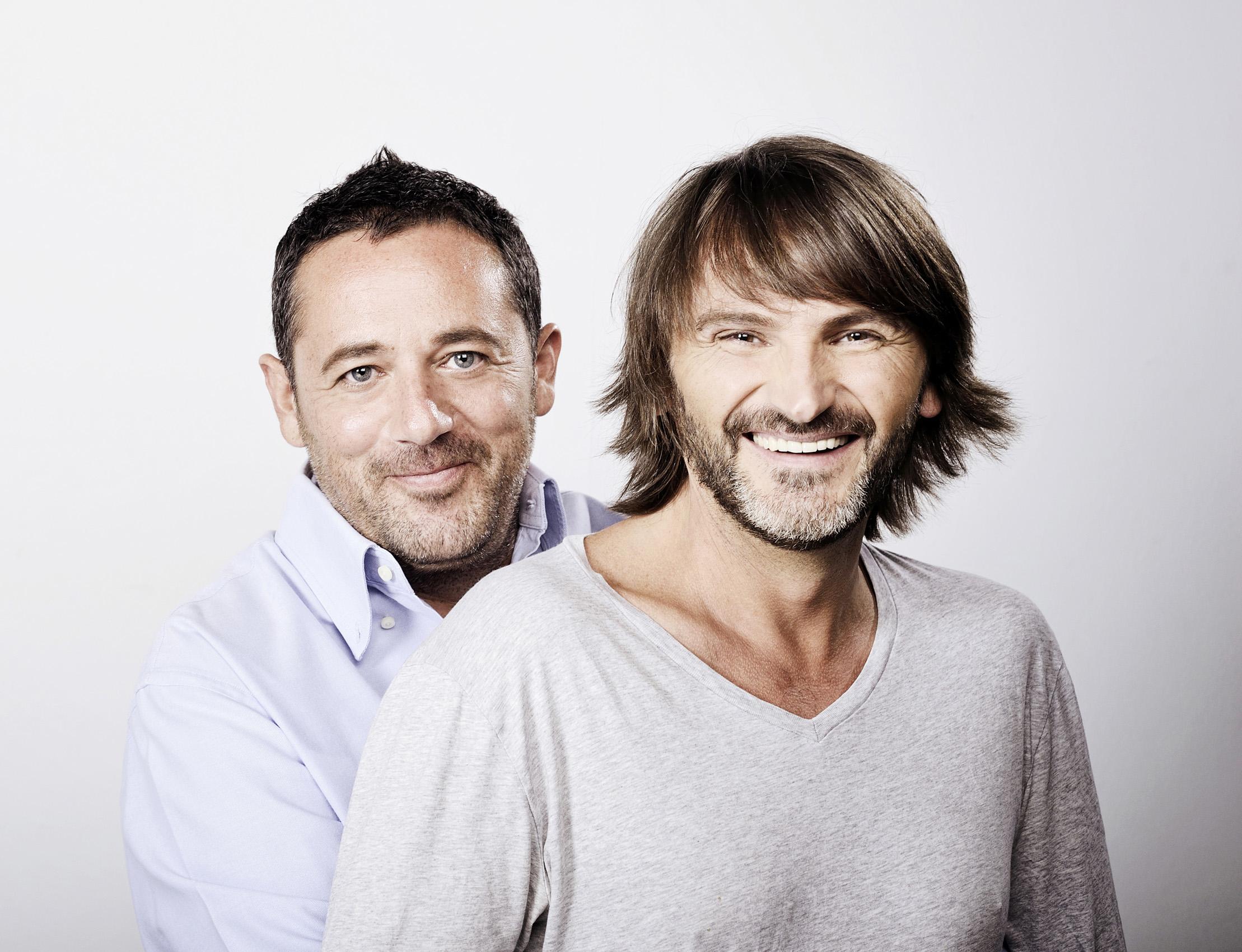 Fernando Tejero y Pepón Nieto son 'Mitad y Mitad'. Foto: http://www.pentacion.com/mitadymitad.html