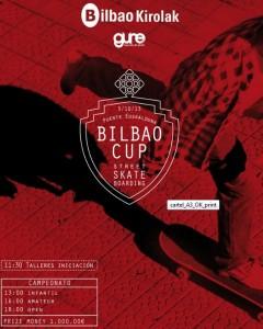 Jornada de skate en Bilbao: Bilbo street cup of skateboarding 2013. Guretxoko.