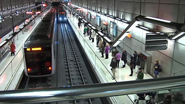 Metro Bilbao. Foto: EFE