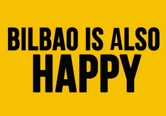Bilbao is also happy.