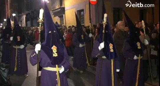 Procesión del Nazareno. Foto de eitb.com.