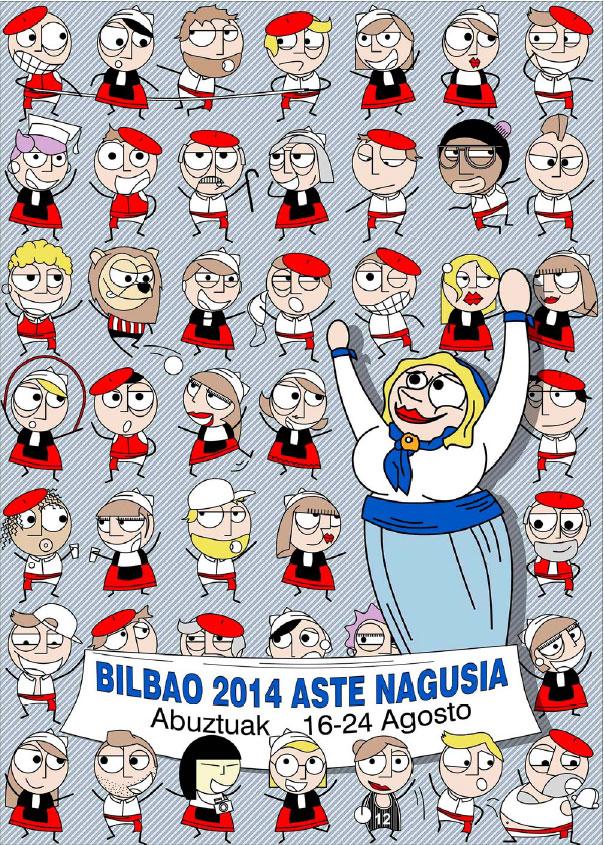 Cartel de la Aste Nagusia 2014