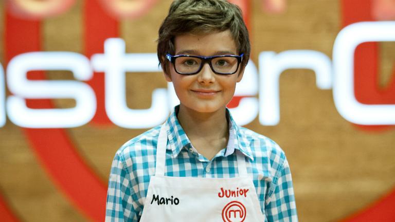 Mario, ganador de la primera edición de Master Chef Junior. Foto: rtve.es