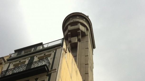 El emblemático ascensor de Begoña. Foto: eitbcom