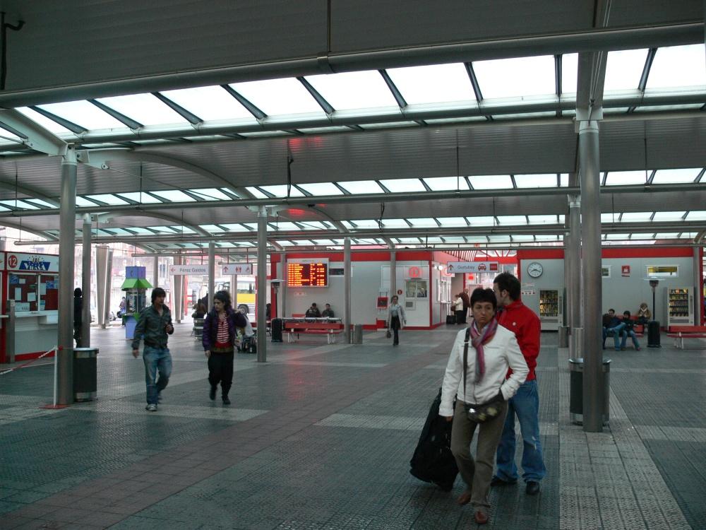 Imagen de Termibús en Bilbao. Foto: Wikipedia