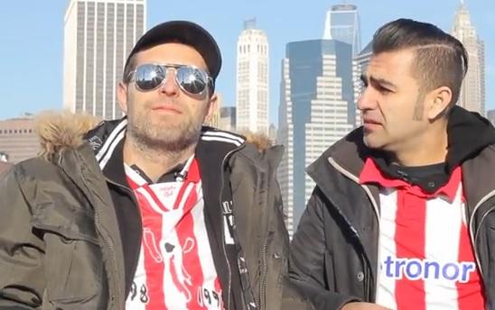 Txemi Parra y Lorenzo Parro, creadores de 'Bilbainadas'