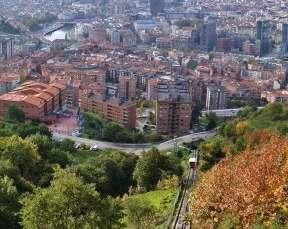 Foto: Funicular de Artxanda en Bilbao. Foto: José Luis Atutxarena.