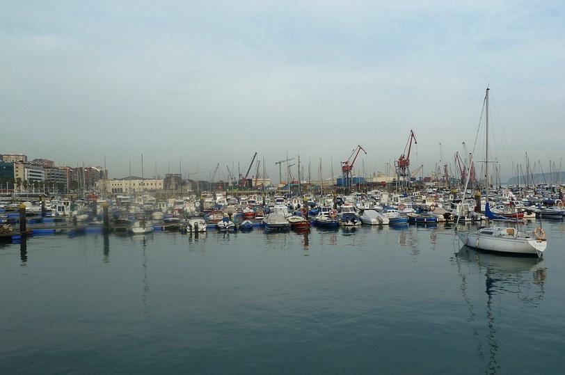 Puerto de Bilbao. Foto: Mikel Otxoa