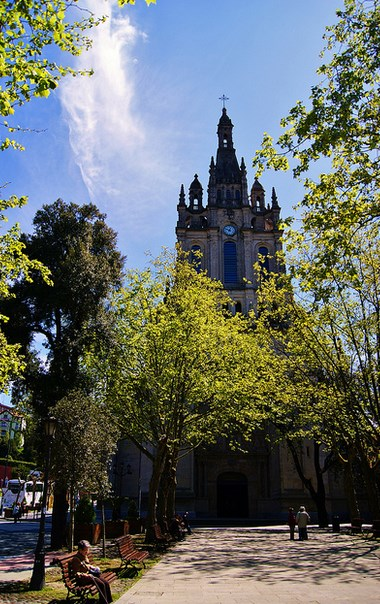 Basílica de la Virgen de Begoña. Foto: Alberto Zorrilla