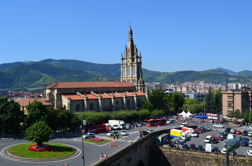 La basílica de Begoña en Bilbao. Foto: Zuria Alonso