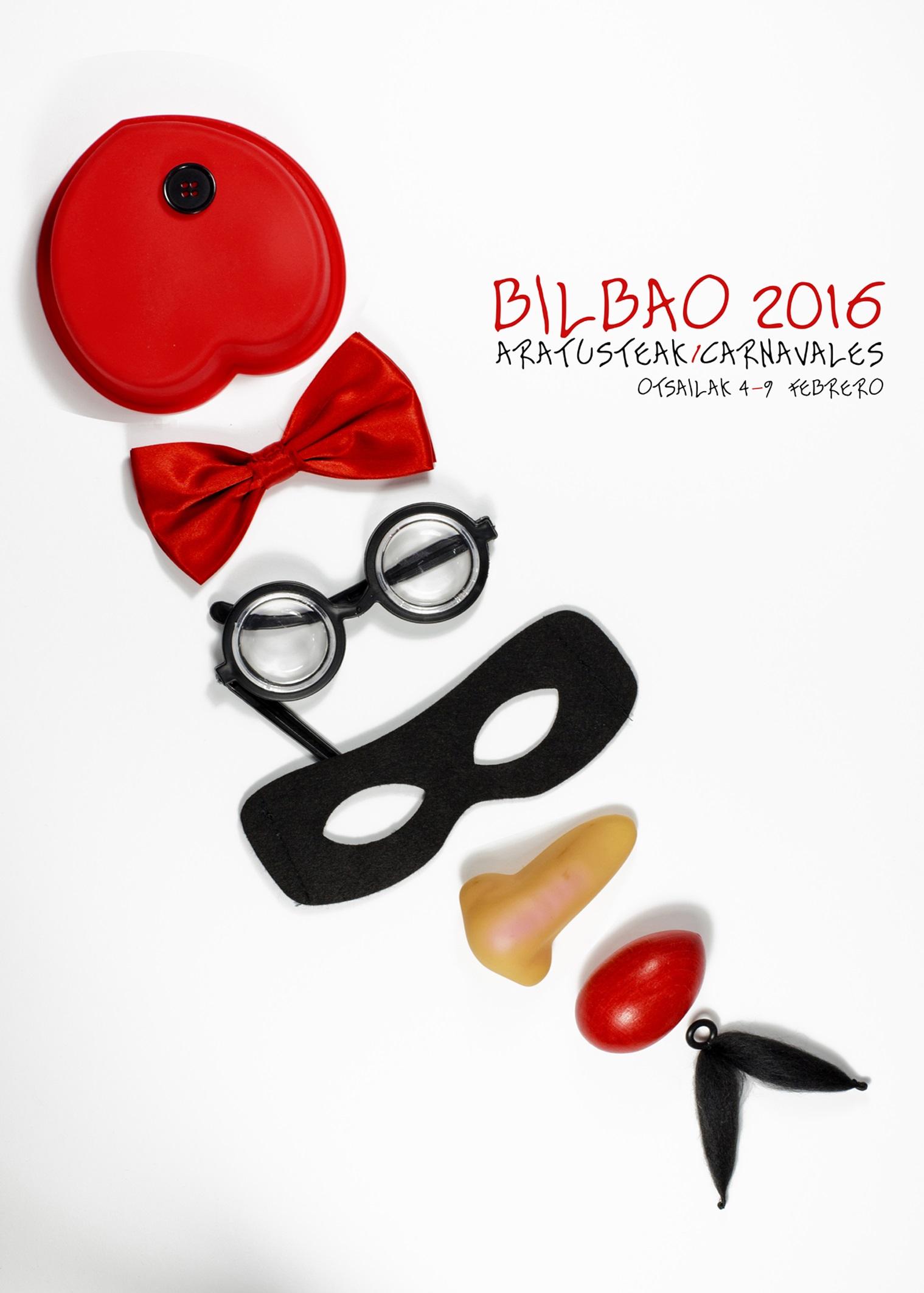 Cartel 1: Bilbao se disfraza