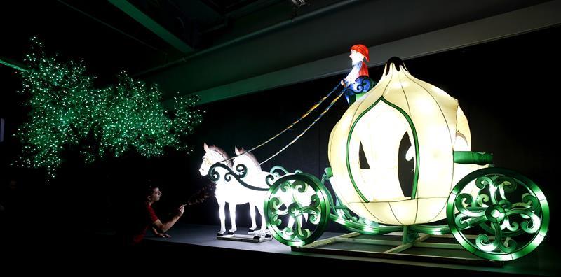 Exposición de Dreamworks en el Euskalduna de Bilbao. Foto: EFE