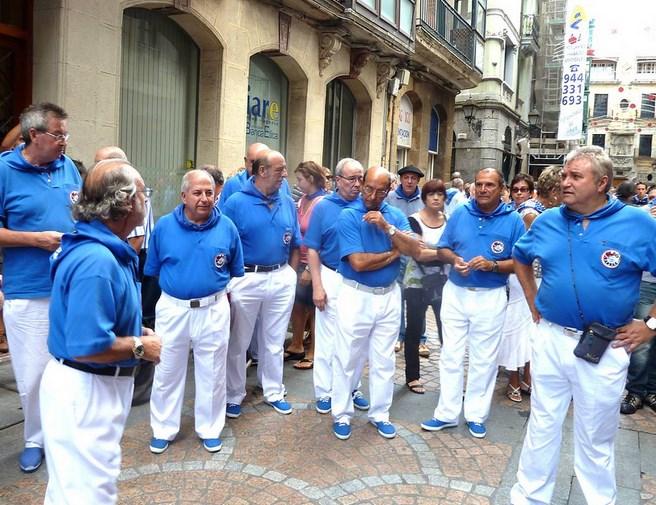 Bilbainadas en la Semana Grande Bilbao 2011. Foto: Jesus Lejarza