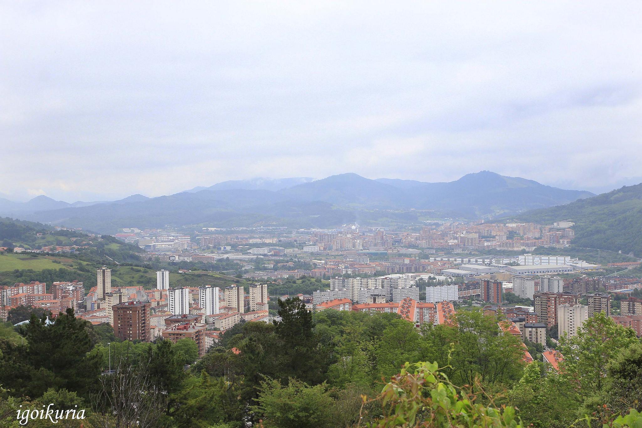 Vista de Otxarkoaga. Foto: Inocencio Goikuria.