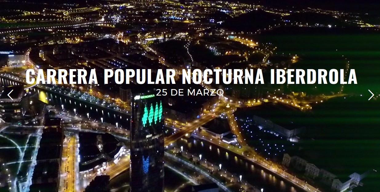Carrera popular nocturna de Bilbao