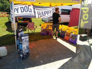 Stand de piensos para perros. Foto: E. Lotina