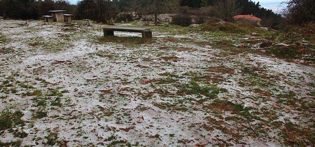 Bizkaia y Álava prohíben la caza este fin de semana por el temporal de frío y nieve
