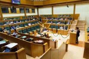 Parlamento Vasco. Foto de archivo: EFE